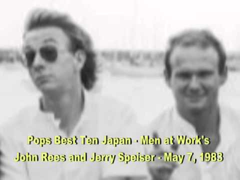 Men at Work on Pops Best Ten Japan - 5/7/83