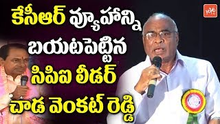 CPI Leader Chada Venkat Reddy Speech | Employees Association 17th Anniversary Celebrations