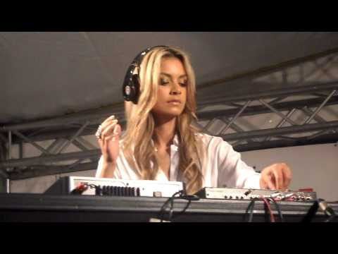 HQ!! DJ Havana Brown Spinning Britney's 3 Music Videos
