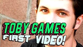 Toby Games First Known Video | Tobuscus Youtuber First Video Ever | Youtubers First Time
