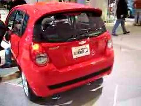 2009 Chevrolet Aveo5 at NAIAS '08 Video