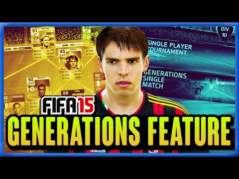 FIFA 15 - NEW FEATURE - GENERATIONS!!!! - FIFA 15 ULTIMATE TEAM