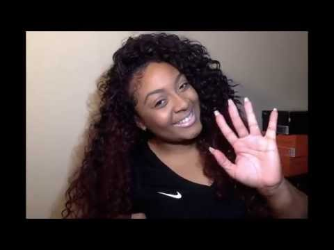 Blended Hair Wigs ▶ Blending Natural Hair With