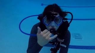 SCUBAPRO HUD Demo at Gypsy Divers Aquatic Center