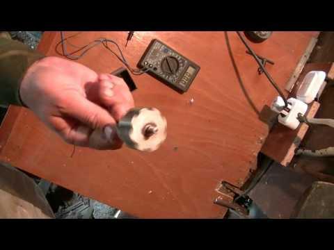 Как сделать генератор для ветряка  Быстро и просто