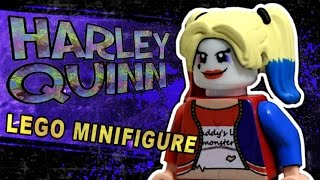 Custom LEGO Minifigure [Inspired by Harley Quinn Suicide Squad]