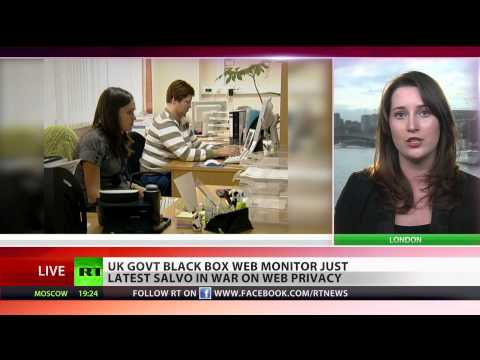 War on Web: UK govt to use 'black box' spy devices to monitor internet