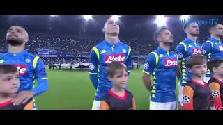 Spettacolo NAPOLI VS PSG 1-1