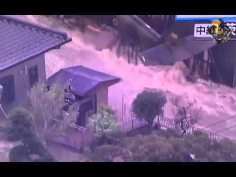 Japan Flood ETAU - Fukishima 2015 - NUCLEAR-Waste