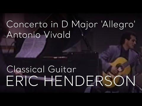 Antonio Vivaldi, Concerto in D Major, Allegro,