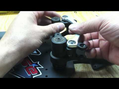 Team Chase Losi 5ive-T Steering Set Up