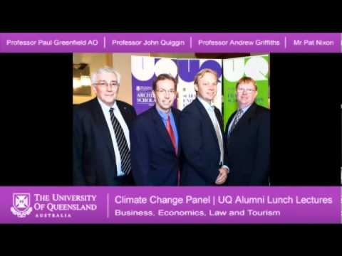Climate Change Panel Part 1 - Business, Economics, Law and Tourism Alumni Lunch Lecture Series 2011