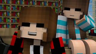 Minecraft Song 1 Hour: Girl Friend Of Your Dreams + Psycho Girl 11 Minecraft Music Video