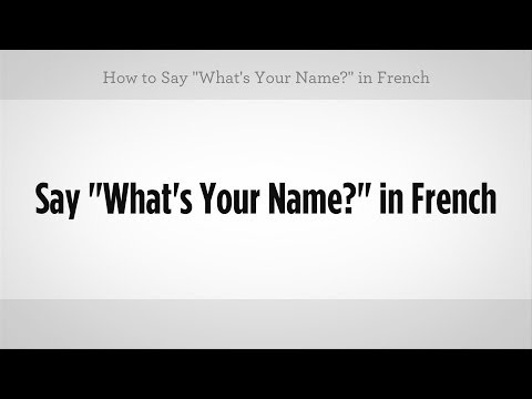 how to say 1 in french