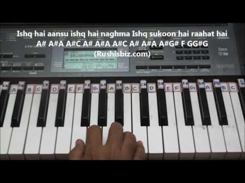 O Jaana - Ishqbaaaz Title Song (Piano Tutorials)