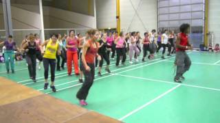 Zumba Master class in France Martin Mitchel