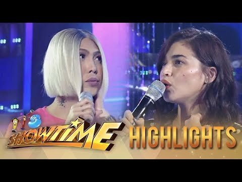 It's Showtime Miss Q & A: Anne Curtis fails to appreciate Vice's beauty