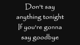 Skillet - Say Goodbye (Lyrics)