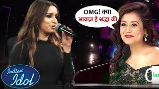 Neha Kakkar Gets Surprise to Listen of Shraddha Kapoor Amazing Voice at Indian Idol 11 | SD3 Prmtion