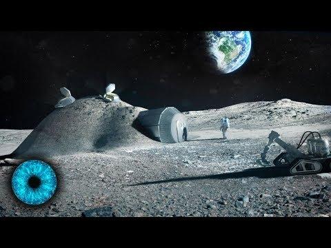 Menschen sollen auf dem Mond siedeln - Clixoom Science & Fiction