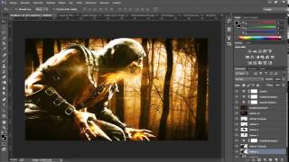 SpeedArt #4 - Mortal Combat