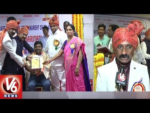 Kankanala Jyothi Rani Trust Silver Jubilee, Distributes Awards To SHE Team Officers | V6 News