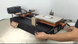 Big Size 14 inch automatic LCD separator machine for iPad -- From Gowell