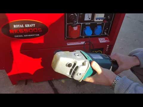 SWISS KRAFT generator diesel 6500W