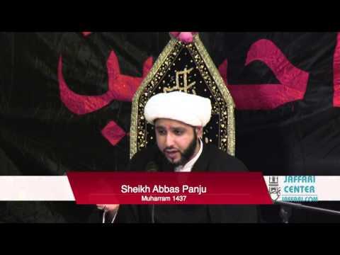 30th Zil Haj Sheikh Abbas Panju English Majlis