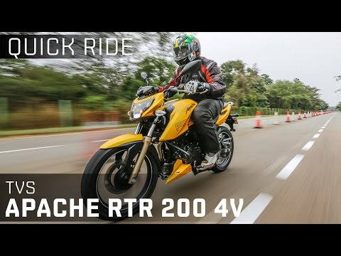 TVS Apache RTR 200 4V :: Quick Ride Review :: ZigWheels