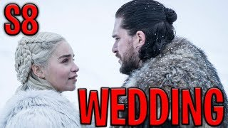 LEAKED! Jon Snow and Daenerys' Wedding In SEASON 8 | Game of Thrones