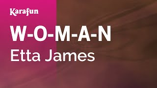 Watch Etta James W.o.m.a.n. video