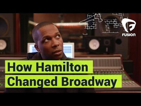 Leslie Odom Jr. Explains How 'Hamilton' the Musical Revolutionized Broadway
