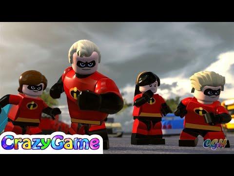 LEGO The Incredibles Gameplay Walkthrough Part 1 | CRAZYGAMINGHUB