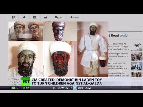 Terror Toy: CIA makes demonic Bin Laden action figure so kids fear Al-Qaeda