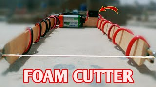 How to make an Electric Styrofoam cutter at home