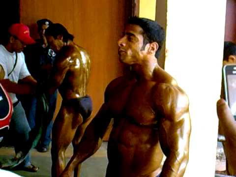 Mr India Suhas Khamkar 2010 Indian Bodybuilding Backstage Mp4