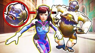 *OP* D.VA Counter-Trick Works Every time! - Overwatch Best Plays & Funny Moments #216