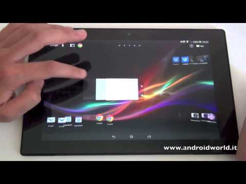 Sony Xperia Tablet Z. la recensione in italiano by AndroidWorld.it