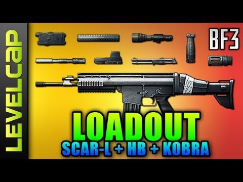 Loadout - SCAR-L, Heavy Barrel, G18 (Battlefield 3 Gameplay/Commentary/Review)