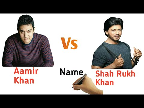 Aamir Khan Vs Shahrukh Khan Comparison 2017 Aamir Khan As Shakti Kumaarr In Secret Superstar 2017