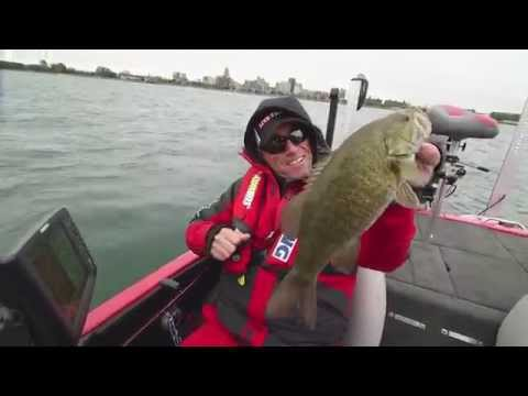 Extreme Cold Front Smallmouth Bass - Dave Mercer's Facts of Fishing 2014 Full Episode #12