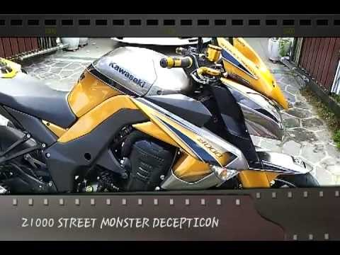 Z1000 STREET MONSTER DECEPTICON