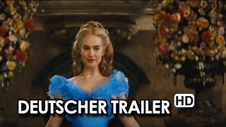 CINDERELLA Offizieller Trailer Deutsch German (2015) HD