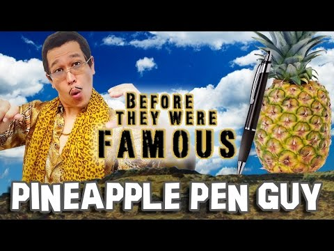 PINEAPPLE PEN GUY - Before They Were Famous - PPAP