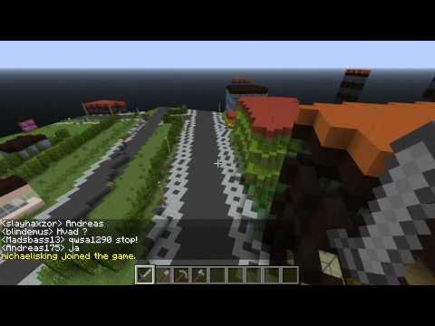 Denmark Minecraft 1:1 Scale, Episode #1 (Home town of Nakskov)