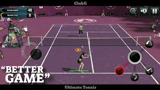 Ultimate Tennis - Better Android/iOS Game