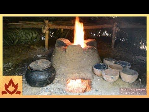 Primitive Technology: Pottery and Stove