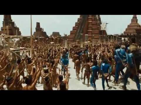 Templo De Tenochtitlán En Apocalypto (mel Gibson, 2006) video
