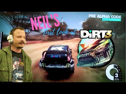 DiRT3 - NEW SECTIONS - Exclusive first play!
